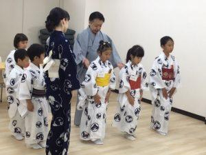 松尾塾伝統芸能 お稽古が始まりました