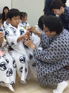 東音塚原勝利先生と塾生